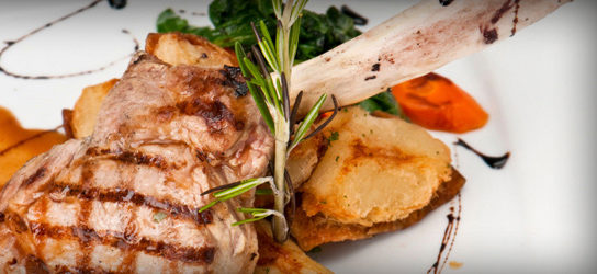 FRENCHED PROVIMI VEAL CHOPS ( MILK FED )