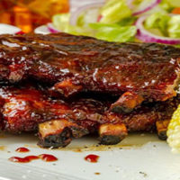 COOKED RIBS IN SAUCE