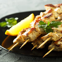 LEMON DIJON CHICKEN KABOBS